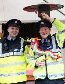 Community Gardai Celebrating Chinese New Year